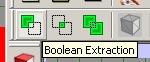 boolsche Exktraktion in Flux Studio