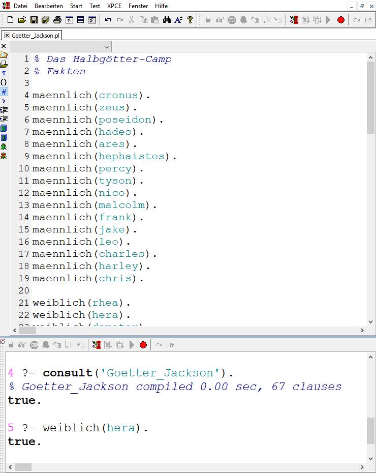 Prolog-Editor