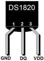 Temperatursensor DS1820
