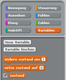 Neue Variable