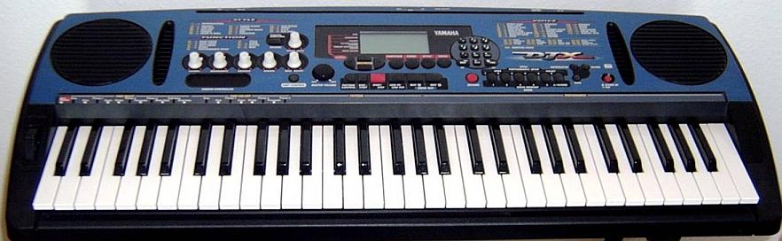 Yamaha DJX, Keyboard / Synthesizer