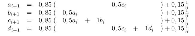 LGS mit Variablen