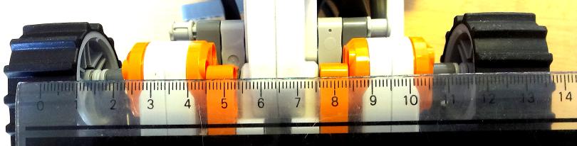 Vermessung: Abstand der Ketten