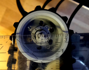 Vermessung: Kettenraddurchmesser