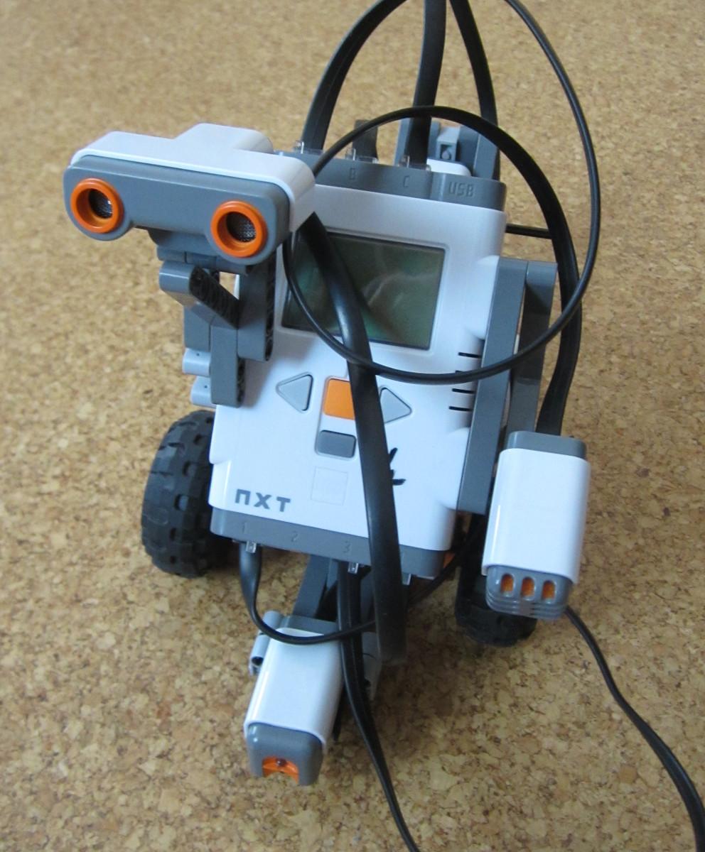 NXT-Roboter mit Sensoren
