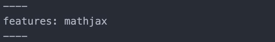 Einbindung von MathJax via features-Attribut